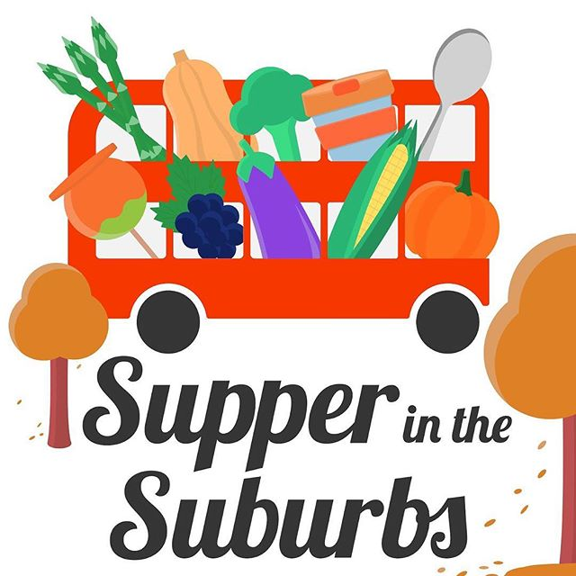Autumn has rolled around and  @supperinthesuburbs has a new theme for the occasion. Bring on the hot chocolate, soup, conkers and log fires! #graphicdesign #logo #fdblogger #london #foodblogger #bus #adobe #adobeillustrator #illustrator #fruit #veg #vector #illustration #digitaldesign