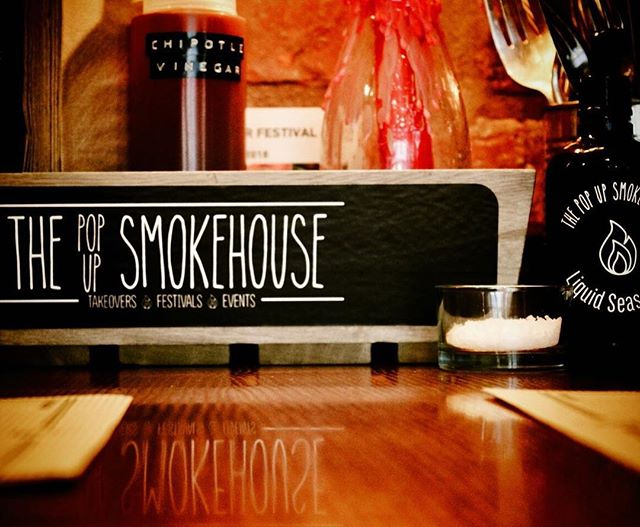 I had a lot of fun working with chef extraordinaire Liam on the new branding for Leicester's favourite smokehouse as it rolls out in popup form. Book a table at The Popup Smokehouse wherever it pops up!