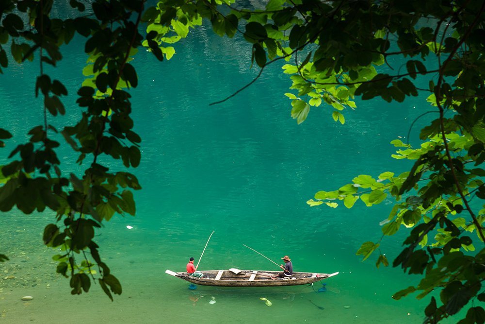 Umngot River, Dawki, Meghalaya