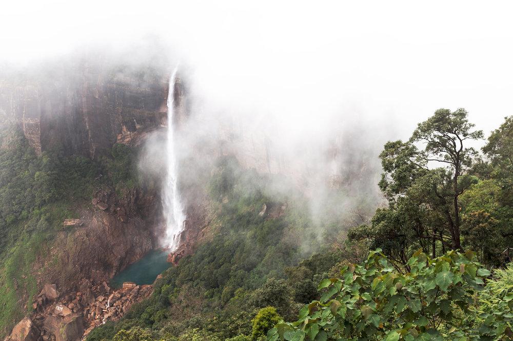 Nohkalikai Falls, Cherrapunjee, Meghalaya