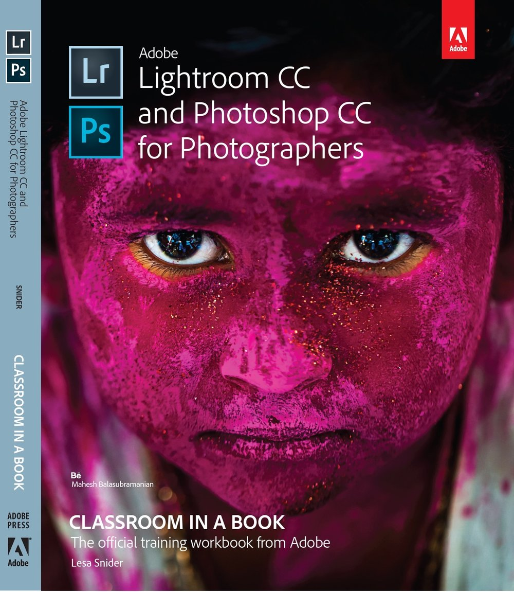 Lightroom CC and Photoshop CC for Photographers - Cover Page