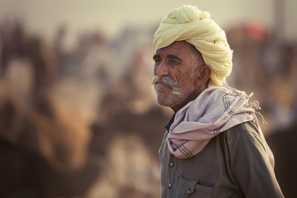 Camel Trader - Pushkar, Rajasthan, India