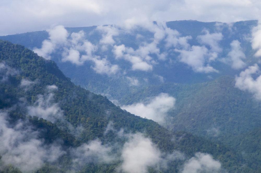 Clouds and Mountains, Cherrapunji, Meghalaya, India