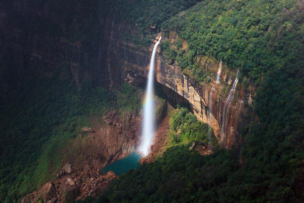 Nohkalikai Falls, Cherrapunji, Meghalaya, India
