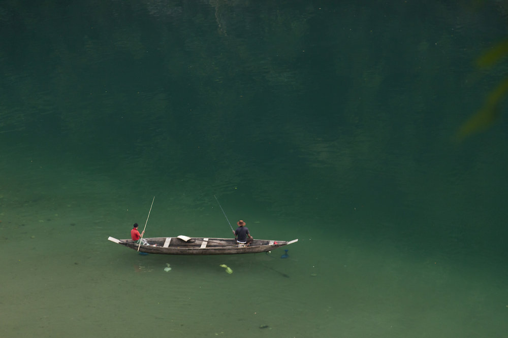 Umngot River, Dawki, Meghalaya, India