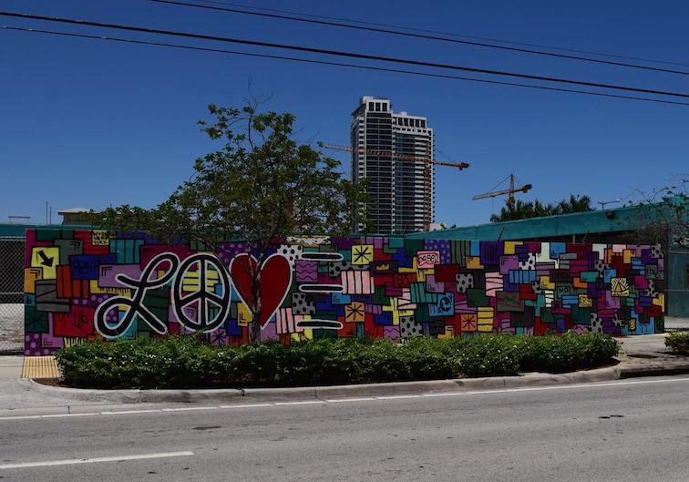 Graffiti Wall Miami Design District