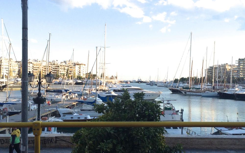 Yacht Harbor in Piraeus, Greece