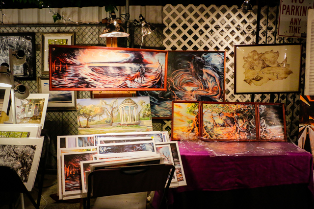 New Orleans inspired art at the Frenchmen Art Market. (Photo Via Facebook.com/FrenchmenArtMarket)