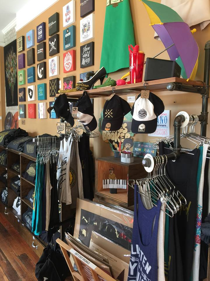 Fun clothing, art, and gifts from New Orleans-based Dirty Coast Press.