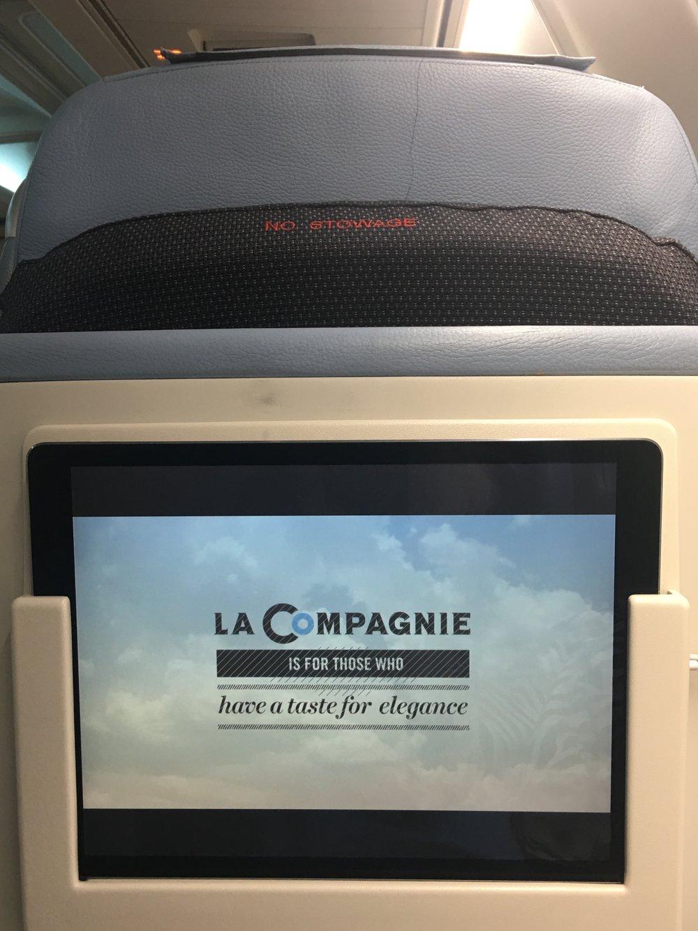 La Compagnie - Portable IPad