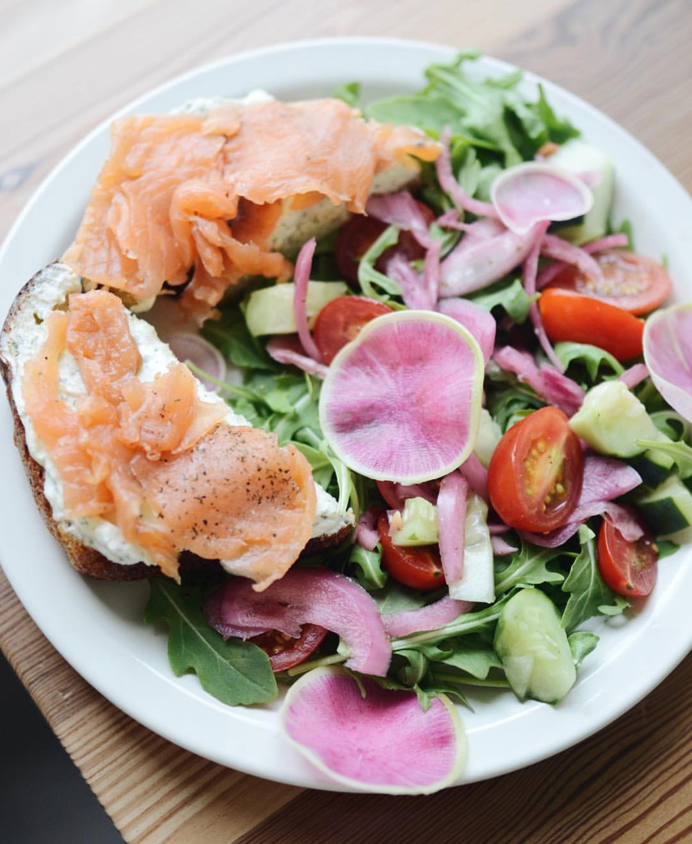 Lox Plate from the Daily Beet