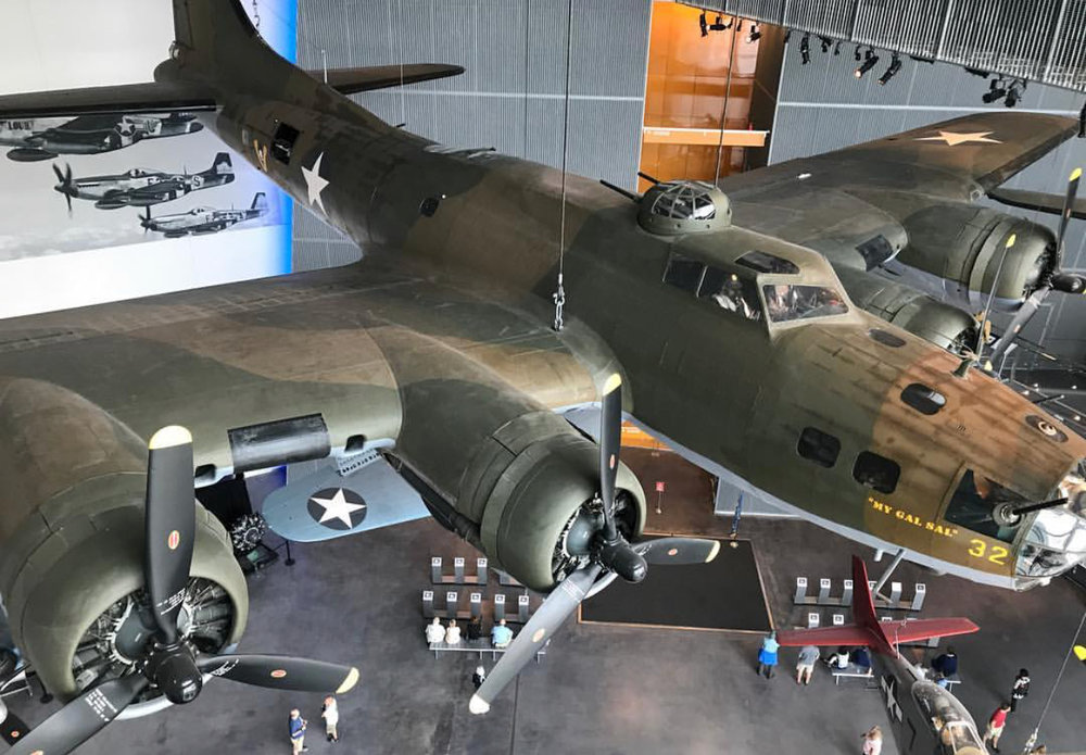 Snapshot from the WWII Museum