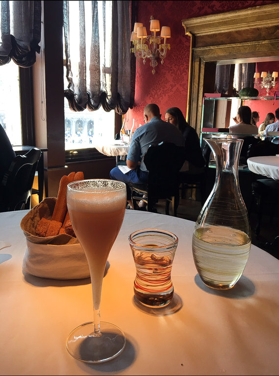 Delicious Bellini Craft Cocktail