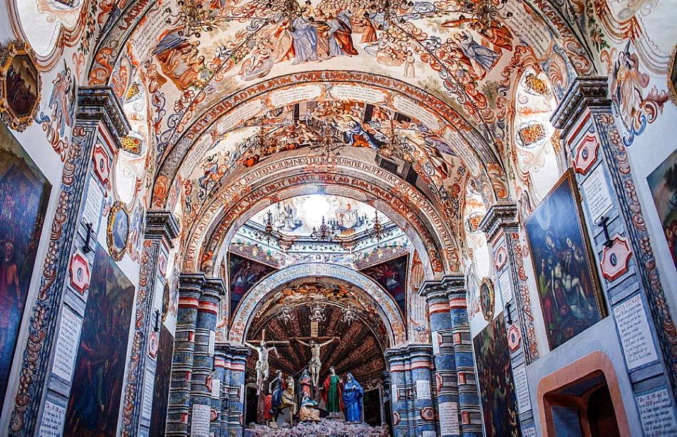 Sancturio de Atotoilco, Mexico's Sistine Chapel