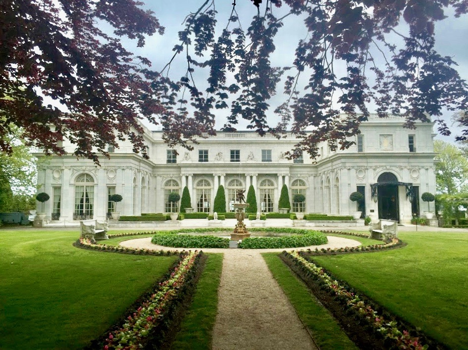 Rosecliff Mansion in Newport; featured in the 1974 version of The Great Gatsby
