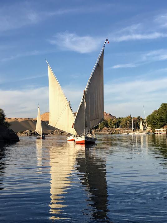 Sailing on the Nile.JPG