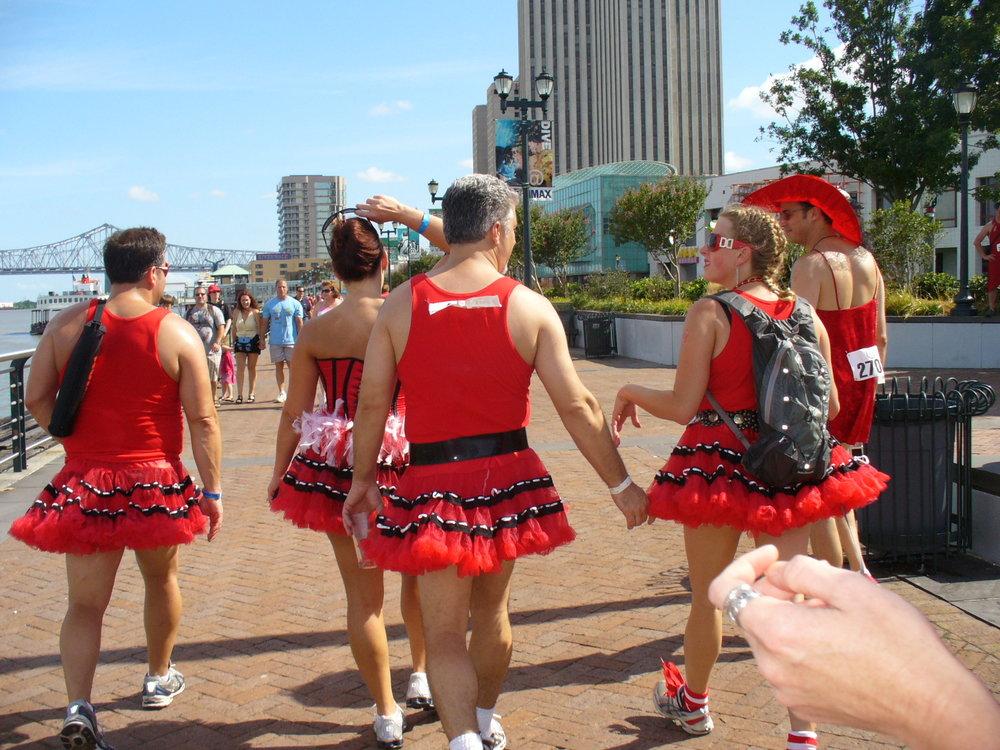 Red Dress Run; Photo by   Charlotte Smith Hamrick     via  flickr
