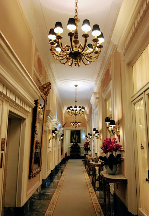 Hotel Avenida Hallway.JPG