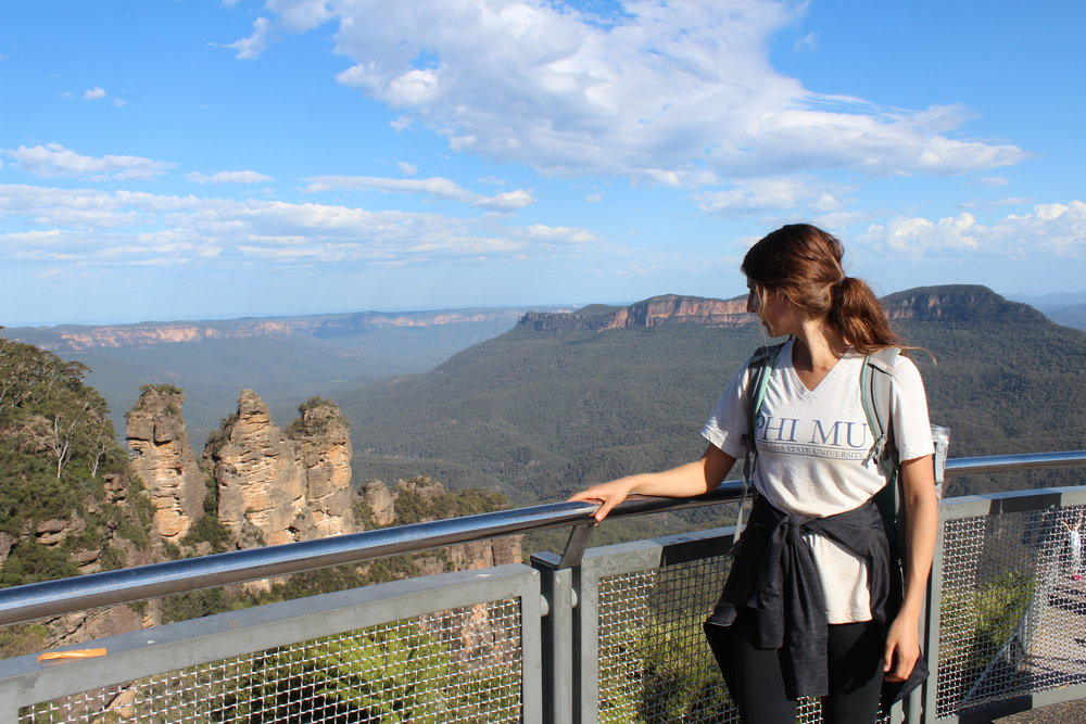 "The ""3 Sisters"" in the Blue Mountains"