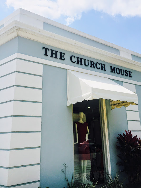 The charming Church Mouse Consignment Store