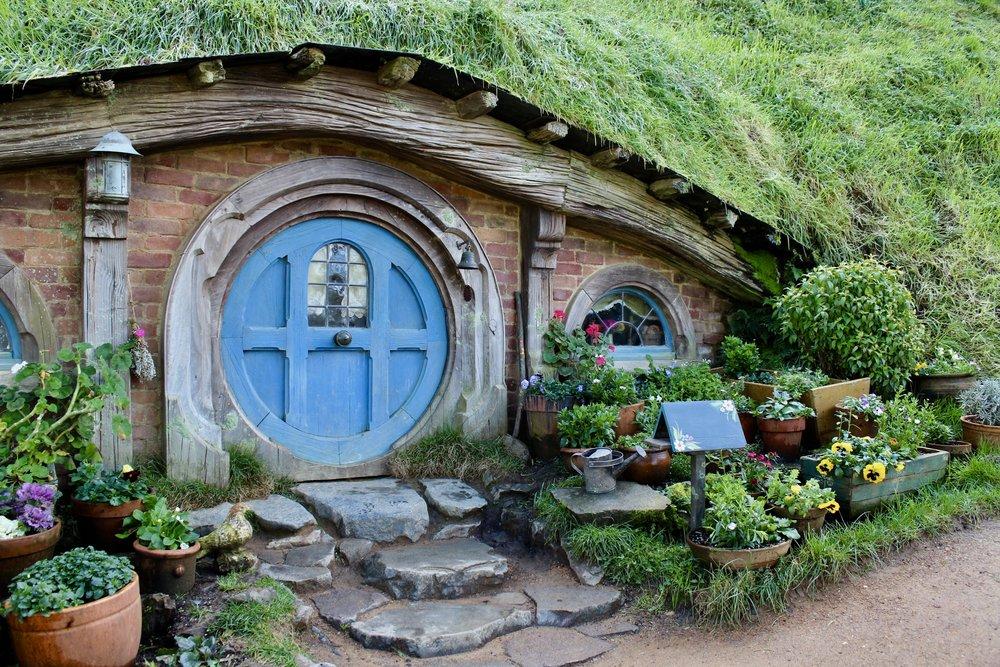 "A ""Hobbit hole"""