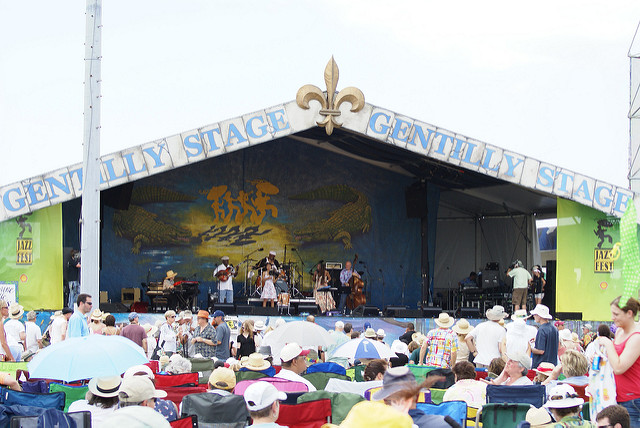 Gentilly Stage.  Photo  by  djnaquin67  via flickr.