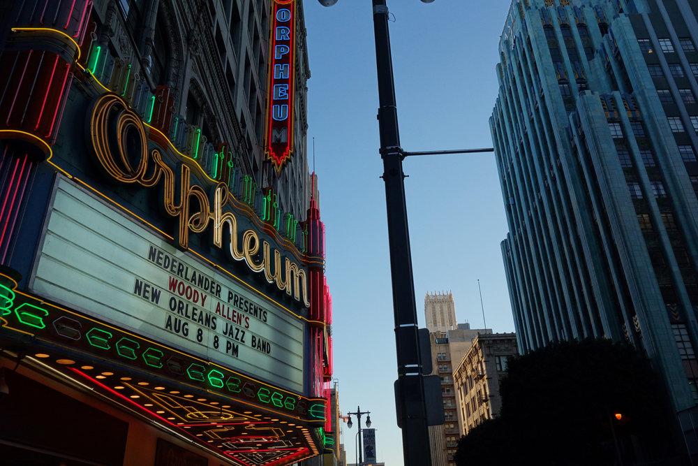 Orpheum Theatre.  Photo  by  Omar Bárcena  via flickr.