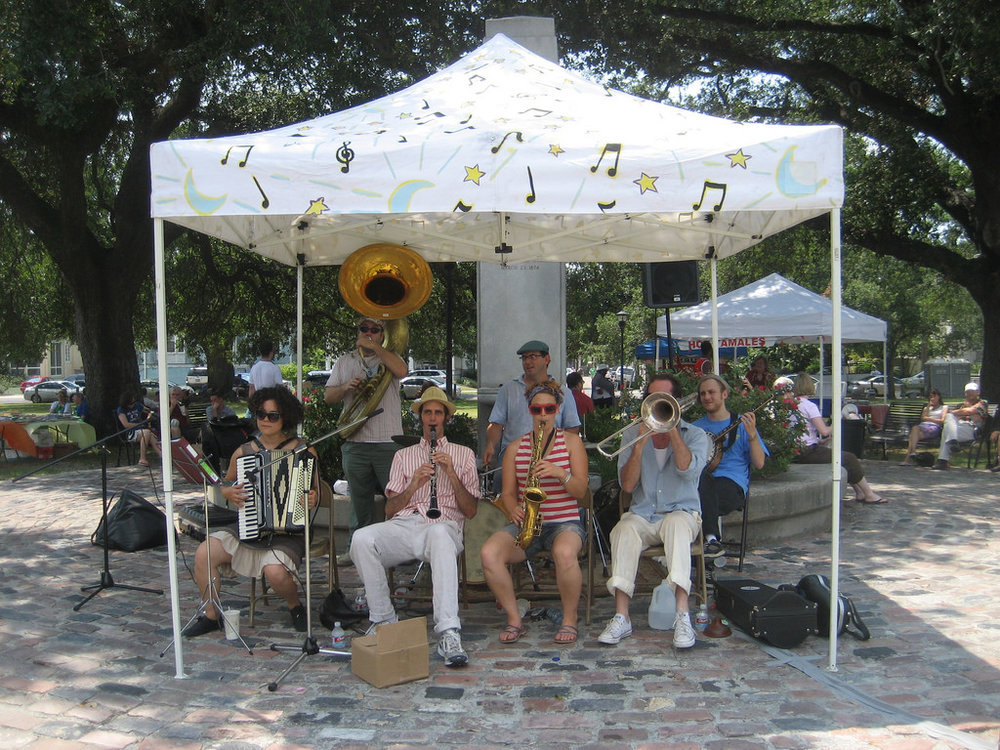 Arts Market at Palmer Park.  Photo  by  Infrogmation of New Orleans  via flickr.