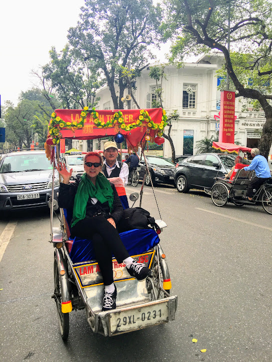 I've ridden pedicabs in New Orleans, Charleston, NYC, and  Hanoi !