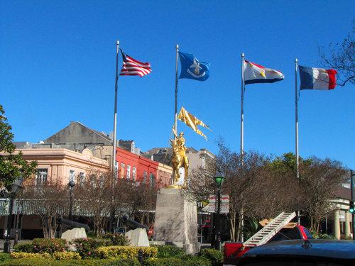 Joan of Arc Replica in New Orleans.  Photo  by  jcsullivan24  via flickr.