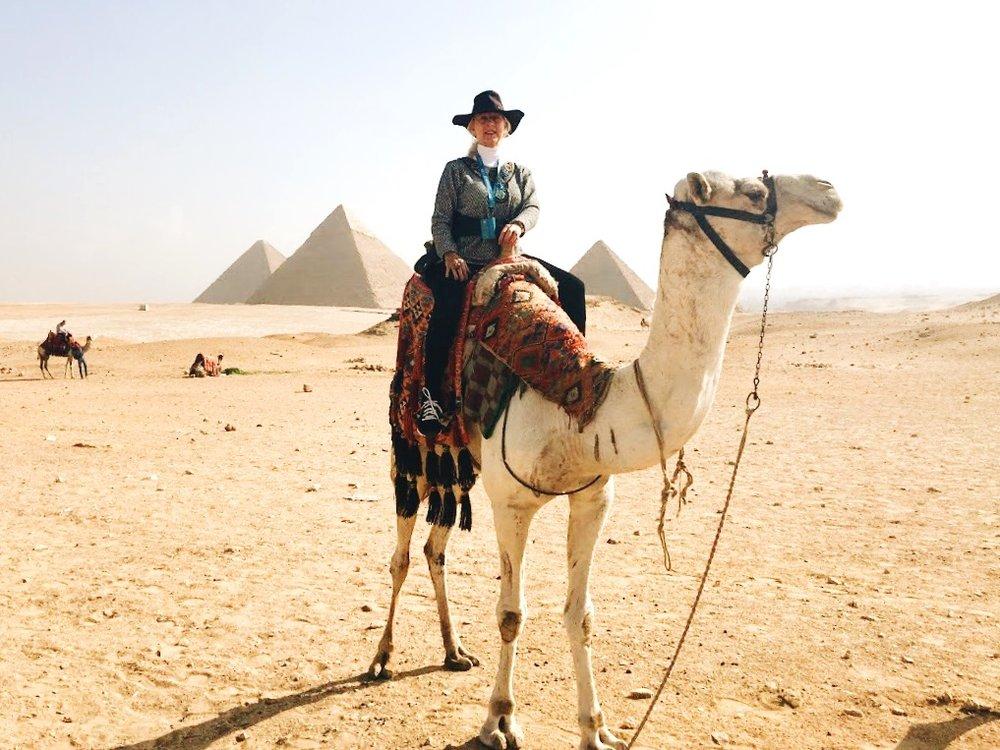 Ride a Camel in the Egyptian Desert.JPG
