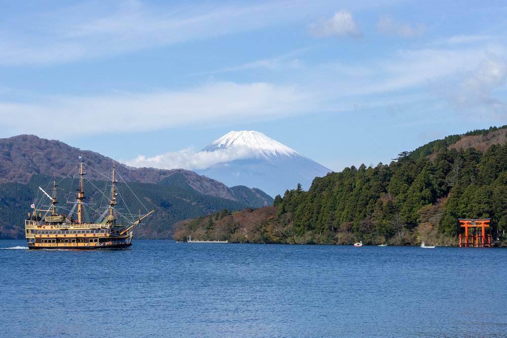 Hakone Pirate Ship  photo  by  Callum Shell  via flickr.