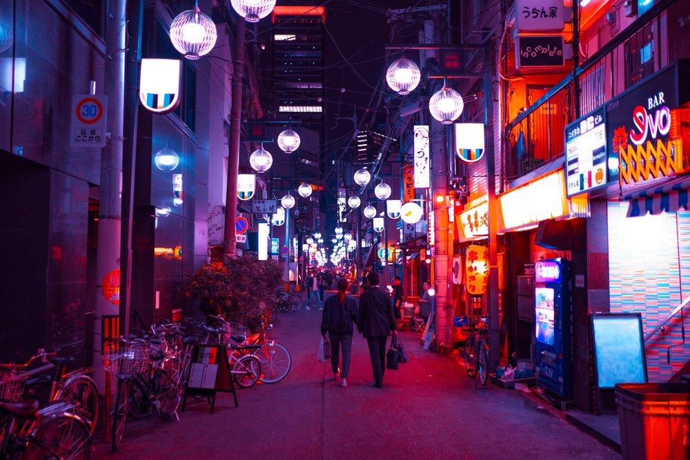 Osaka Photo by  Francois Hoang  on  Unsplash
