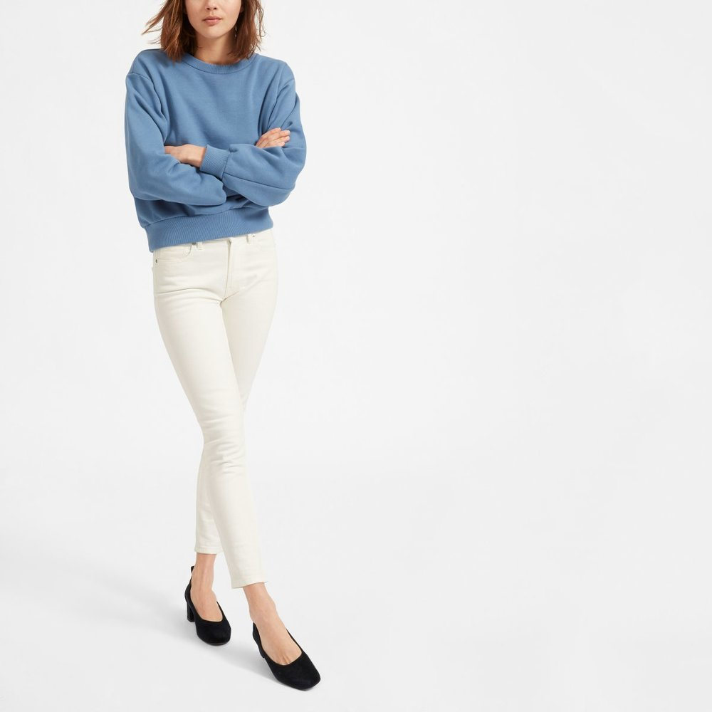 Though I have never purchased from them,  Everlane  is a company focused on ethical, sustainable, transparent fashion. From what I have found, this company appears to make high quality, affordable products.