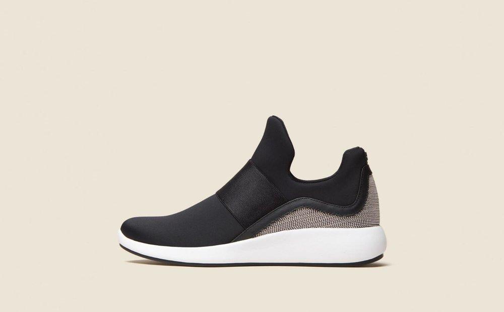 Donna Karan  laceless sneakers