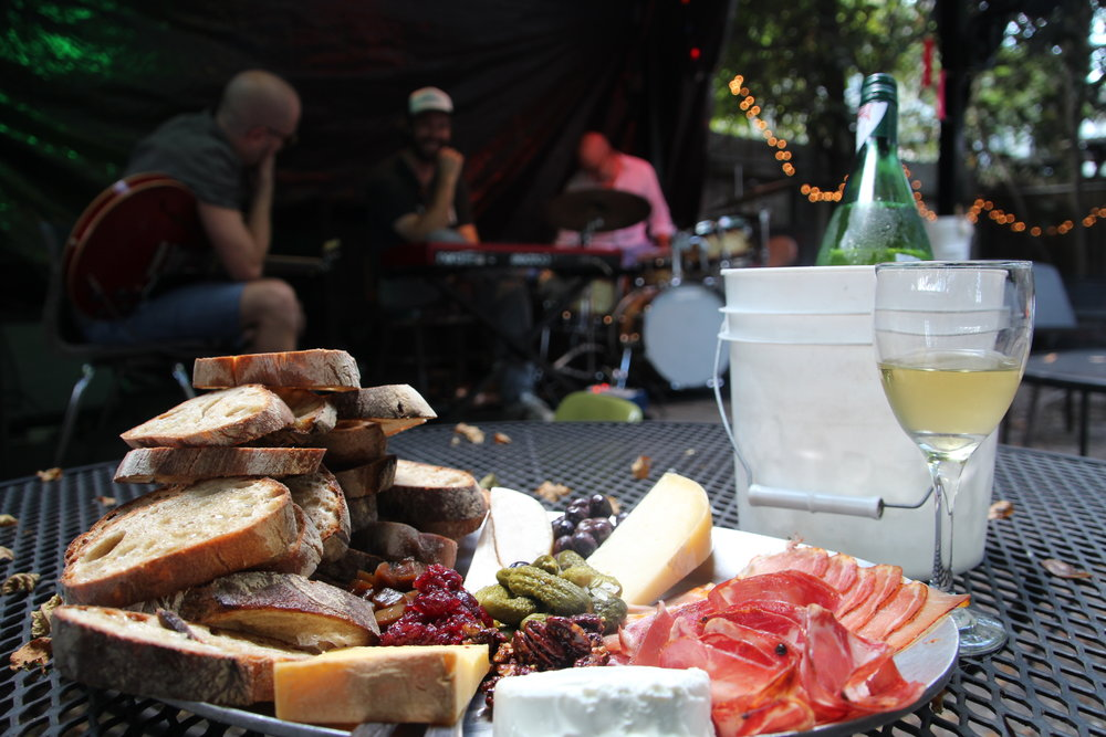 Choose your own cheese and meats at Bacchanal