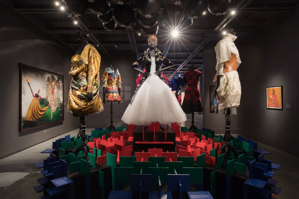 A Queen Within: Adorned Archetypes  display at NOMA. Photo via  noma.org