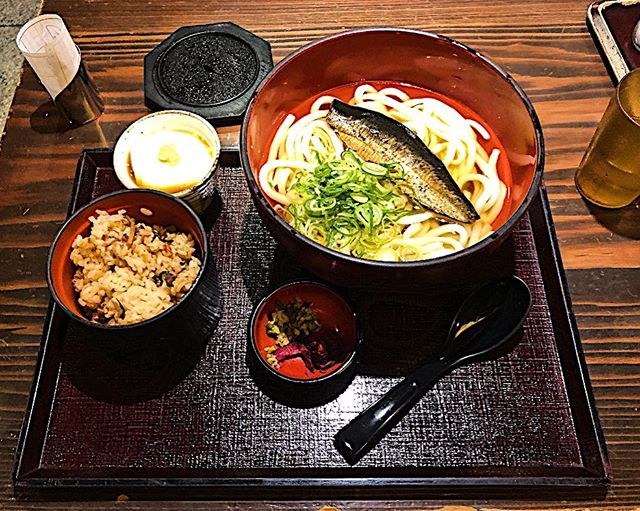 A simple & delicious lunch. Japanese food is the Best!