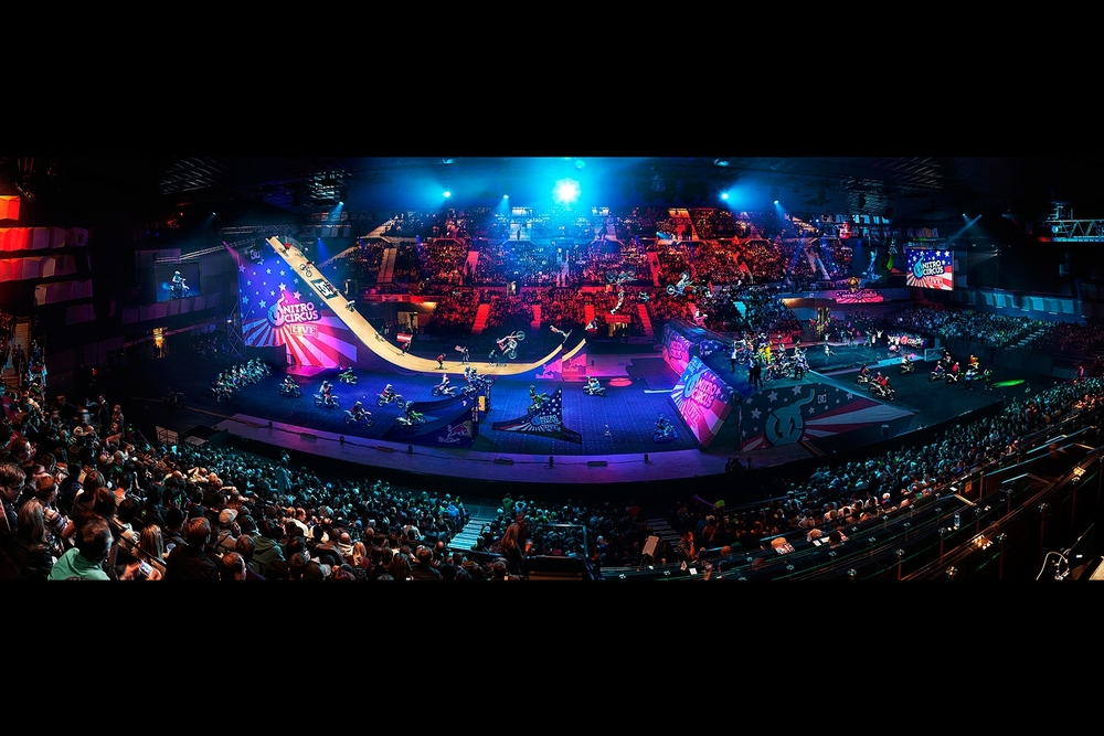 Nitro Circus, Vienna Austria.Jesper Gronnemark / Red Bull Content Pool