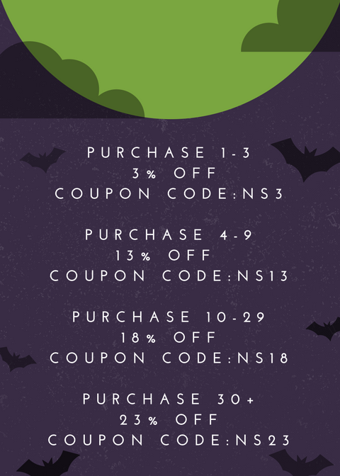 Violet Orange Spooky Night Halloween Sale Flyer.png
