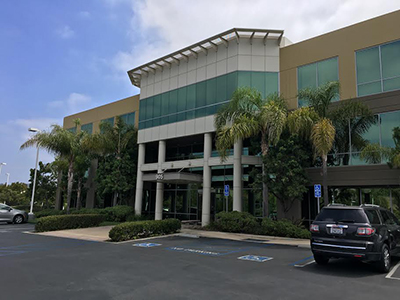 The outside of our new San Clemente office building!