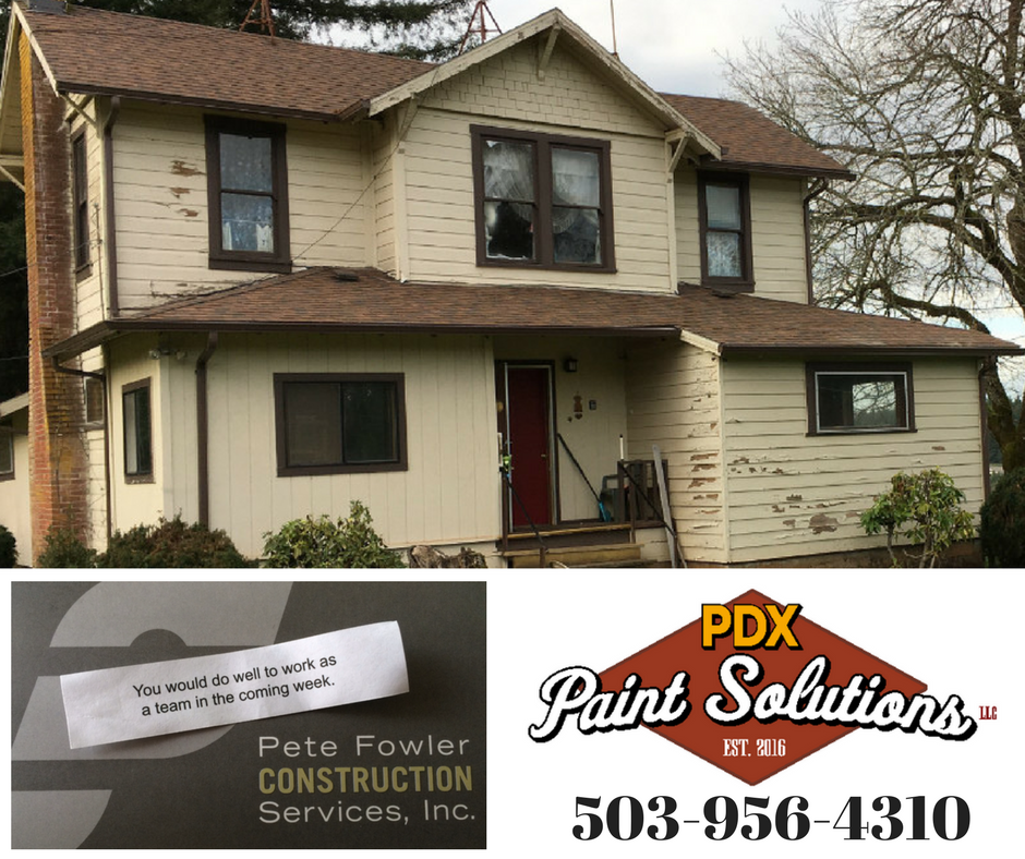 Success is a team sport. And no one helped more than PDX Paint Solutions on this project.