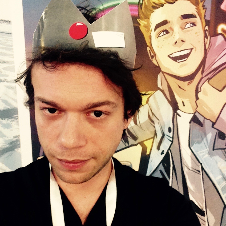 Daniel in Jughead instant-cosplay!