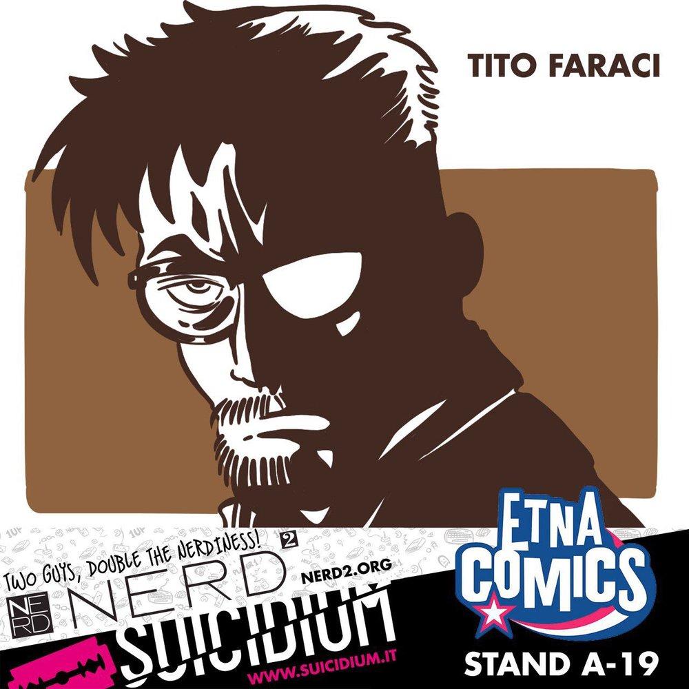Tito Faraci sarà allo stand A19 Venerdì 2 Giugno alle 12:30!