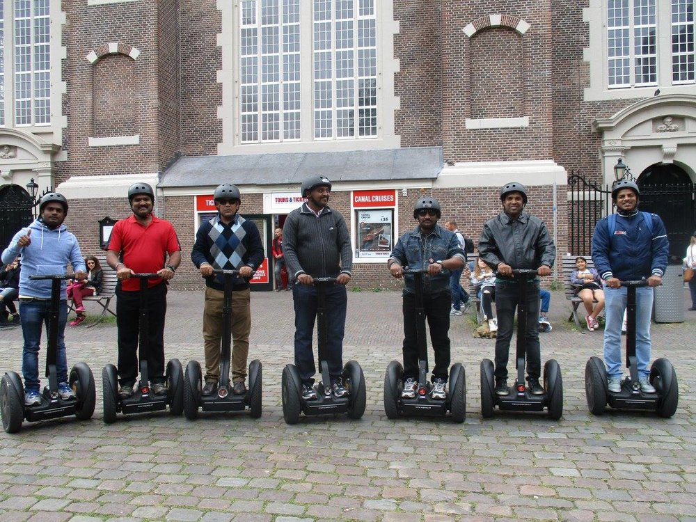 Segway incentive activity for TATA AIG