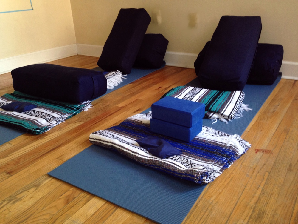 Props for a Restorative Yoga Practice - Photography by Fire&Finesse