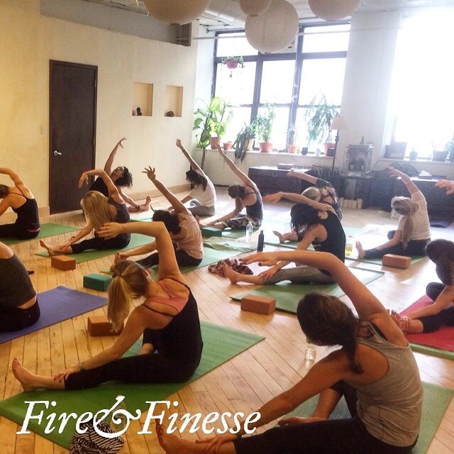 Marathon Fundraising Yoga Class