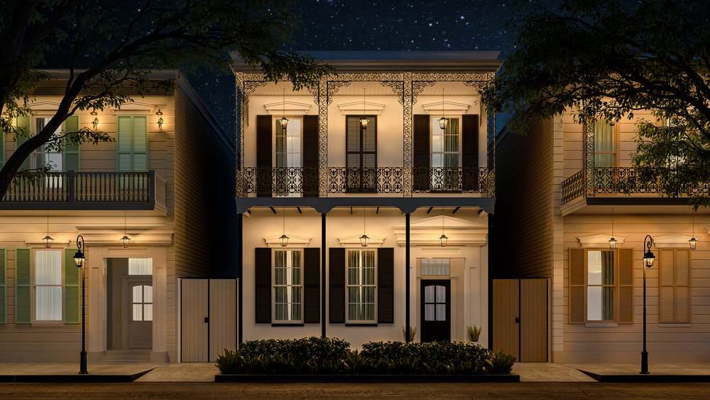 Luxury & Lifestyle - Luxury and lifestyle found in one of the oldest neighborhoods and most famous cities in the world. 4 prestigious residences encompassing 5,214 Sq Ft of elegantly restored living space, offering 1/2 bedrooms in the prime French Quarter location.