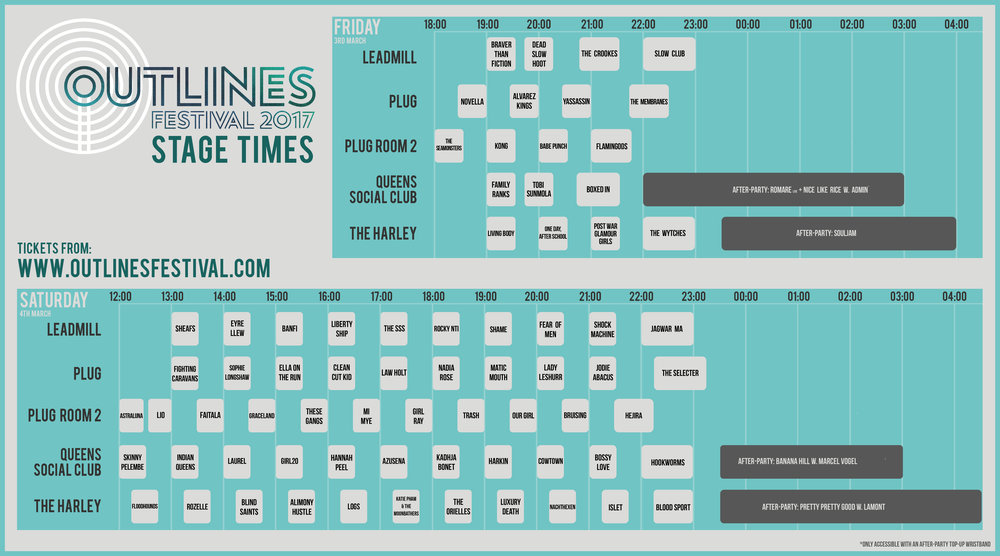 Outlines 2017 stage times