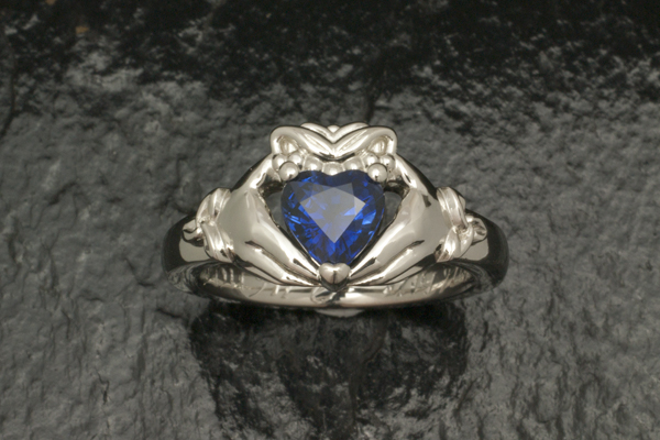 WEB Claddagh ring with heart shaped sapphire 2014 Image 9467.jpg